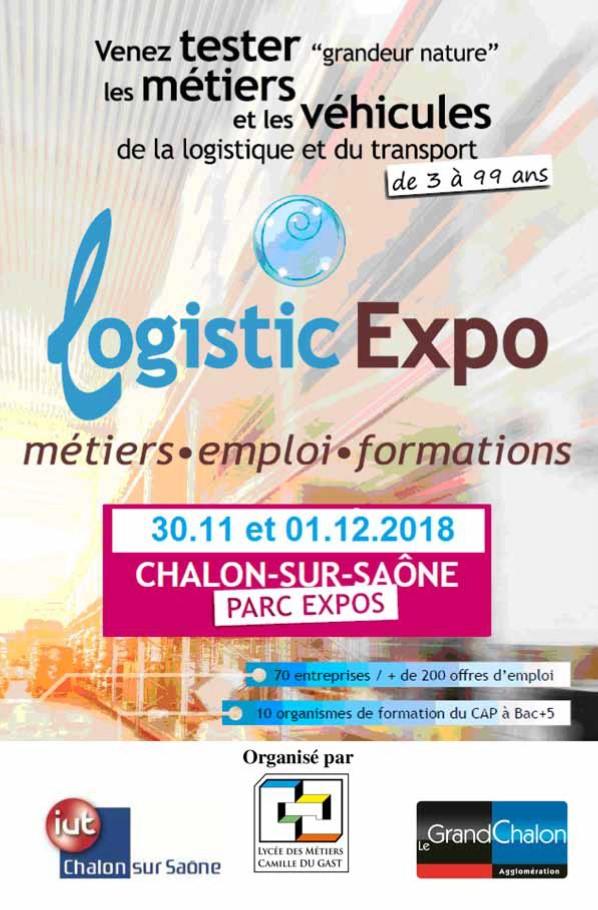 Affiche Logistic Expo Chalon-sur-Saône