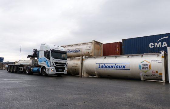 citerne Labouriaux +Tracteur GNL 3